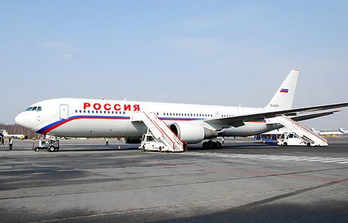 Boeing-767 компании Россия совершил вынужденную посадку в Симферополе