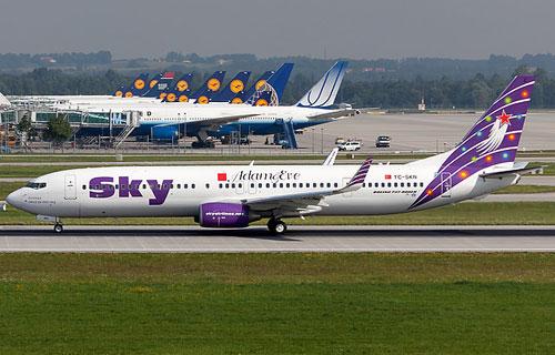 Boeing авиакомпании Sky Airlines