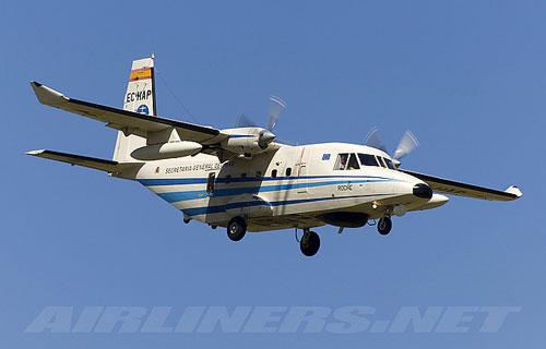 В Индонезии разбился легкомоторный самолет CASA C-212