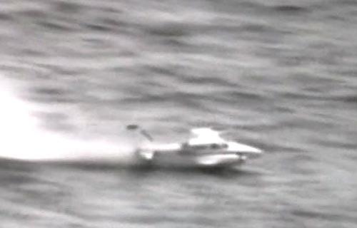Посадка самолета Cessna на воду
