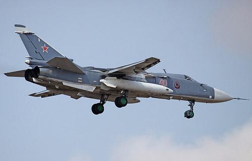 В Амурской области потерпел крушение бомбардировщик Су-24