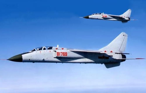 На авиашоу в Китае потерпел крушение Xian JH-7 Flying Leopard