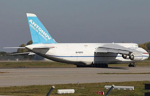 В аэропорту Казани АН-124 Руслан выкатился за пределы полосы