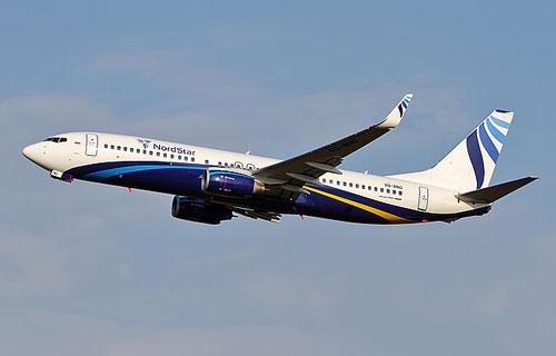 Парк авиакомпании NordStar пополнился новым Boeing 737-800