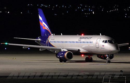 Аэрофлот получил четвертый лайнер Sukhoi Superjet 100