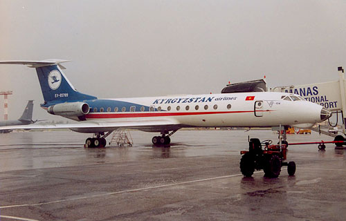 Ту-134 авиакомпании Киргизстан