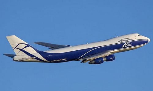 Компания AirBridgeCargo получила свой первый Boeing 747-8