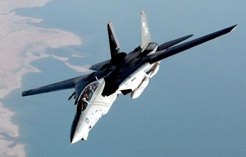 В Иране потерпел крушение истребитель F-14