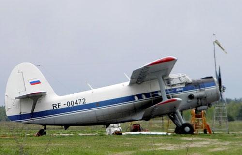 В аэропорту Кызыла сгорели два самолета Ан-2
