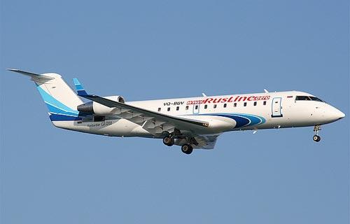 Фото самолета CRJ-200 компании РусЛайн