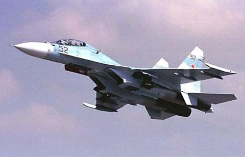 В Хабаровском крае потерпел крушение истребитель Су-30