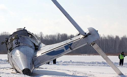 ATR-72 разбился в Тюмении из-за обледенения
