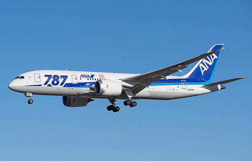 Boeing 787 Dreamliner компании ANA