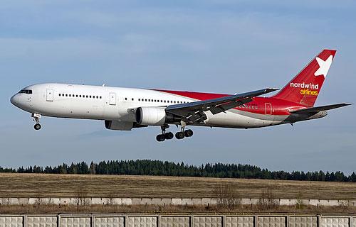 Фото Boeing 767 компании Nordwind Airlines