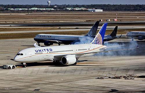 Boeing 787 Dreaminer компании United