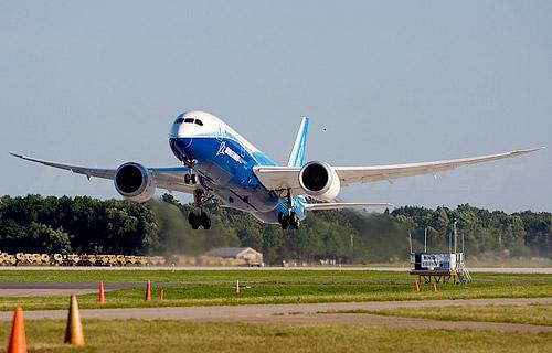 Фото самолета Боинг 787 Дримлайнер