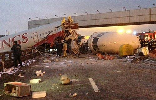 Во Внуково при посадке разбился Ту-204 компании Red Wings