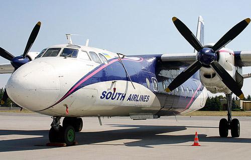 Ан-24 компании Южные авиалинии