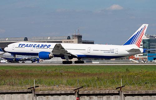 Боинг 777 компании Трансаэро