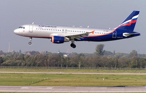 """A320 авиакомпании """"Аэрофлот"""""""