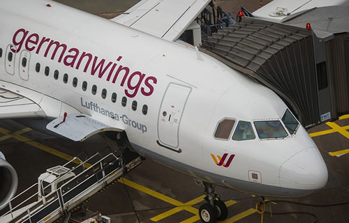 A320 компании GermanWings