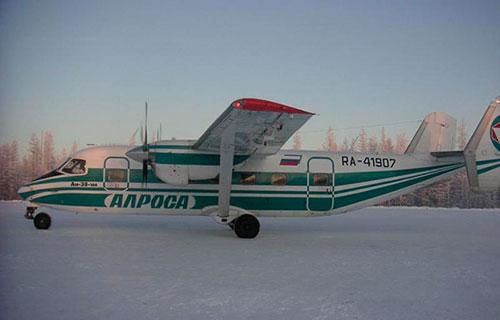 "An-38-100 компании ""АЛРОСА"""
