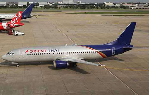 Boeing-737 авиакомпании Orient Thai Airlines