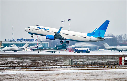 "Boeing-737 авиакомпании ""Победа"""