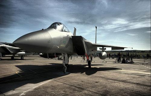 F-15 ВВС Саудовской Аравии