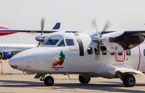 """L-410 авиакомпании """"Аэросервис"""""""