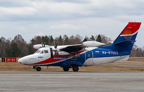 "Let L-410 Turbolet авиакомпании ""КрасАвиа"""