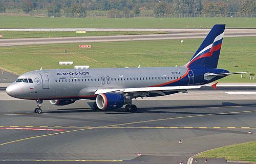 Airbus A320 компании Аэрофлот