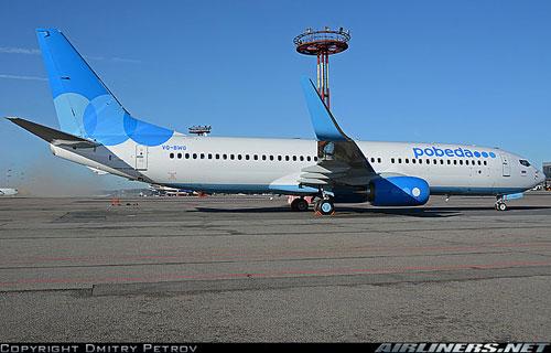 Boeing 737 компании Победа