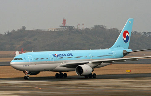 AIRBUS-330 авиакомпании Korean Air