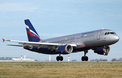 "Airbus A320 авиакомпании ""Аэрофлот"""