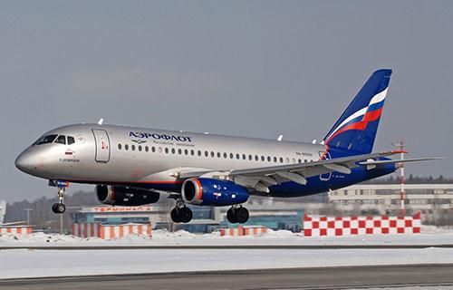 "Sukhoi Superjet-100 авиакомпании ""Аэрофлот"""