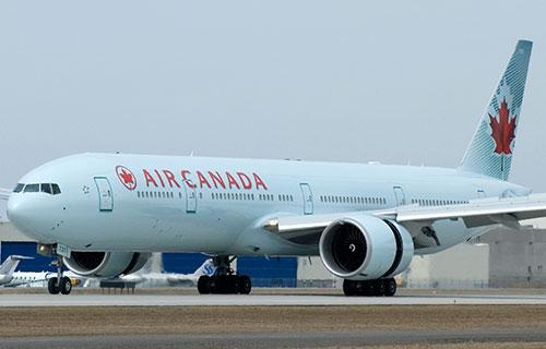 Boeing 777 авиакомпании Air Canada