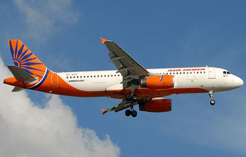 Airbus A320 авиакомпании Air India