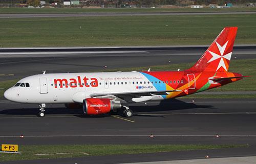 Airbus A319 авиакомпании Air Malta