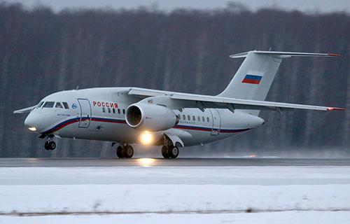 "Ан-148 авиакомпании ""Россия"""