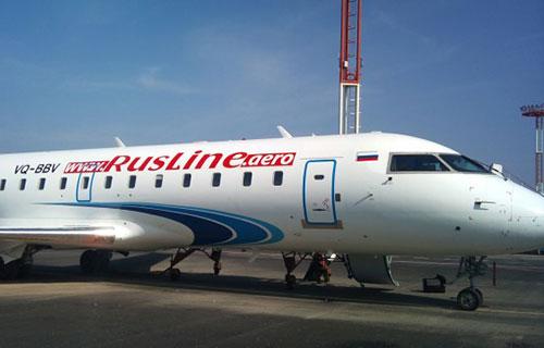 "Bombardier CRJ авиакомпании ""РусЛайн"""