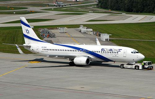 Boeing 737-800 авиакомпании El Al