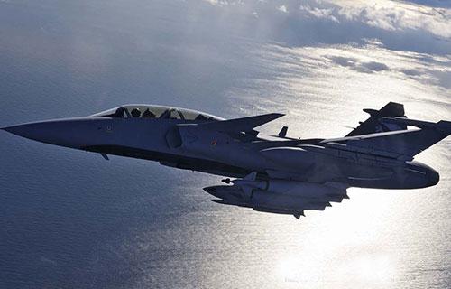 Шведский истребитель Gripen NG