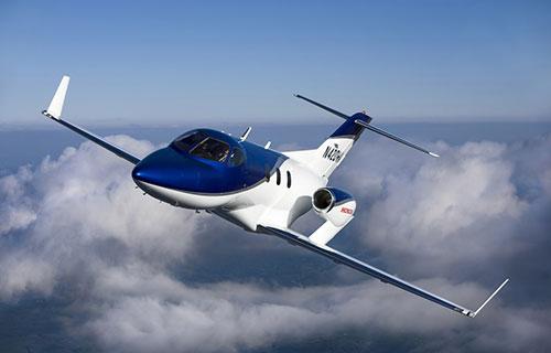 Японский самолет HondaJet