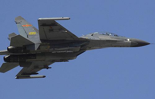 Китайский истребитель J-11D