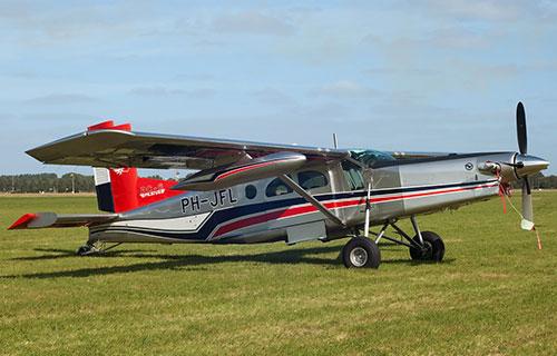Одномоторный самолет Pilatus PC-6 Turbo Porter