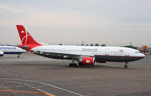 Airbus A300 авиакомпании Qeshm Airlines