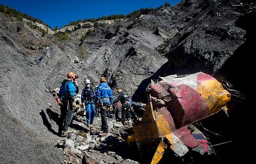 Разбившийся в Альпах Airbus A320