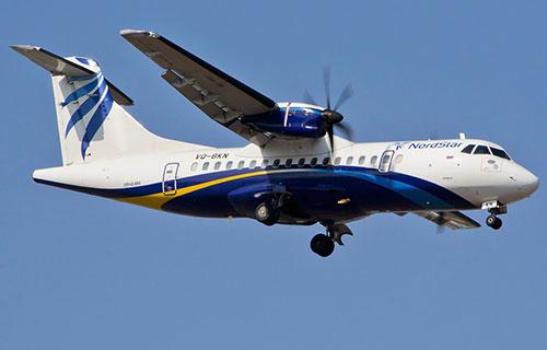 ATR-42 авиакомпании Nordstar