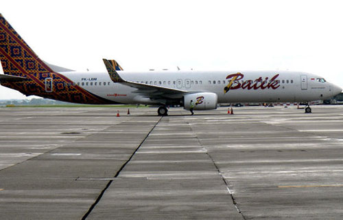 Самолет авиакомпании Batik Air